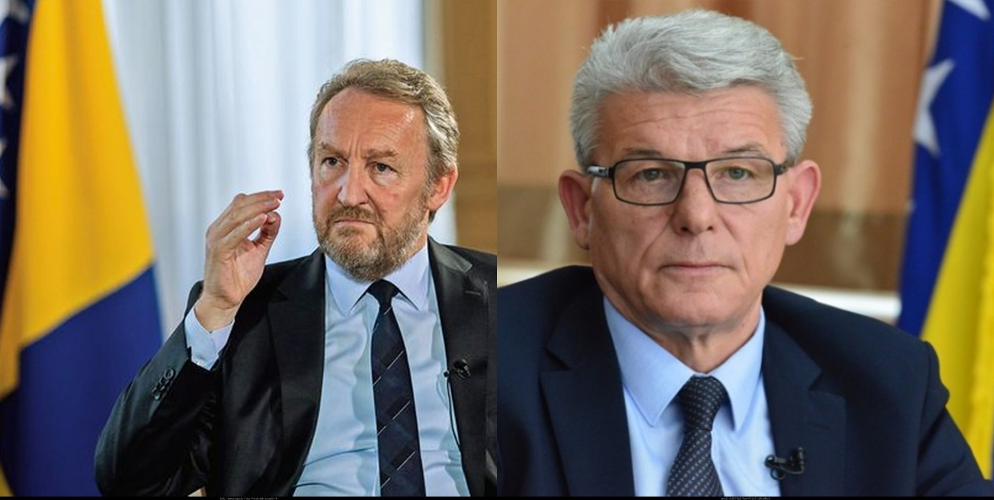 Bakir Izetbegović i Šefik Džaferović odrekli se dvije trećine plate za  pomoć najugroženijima - Nove-info